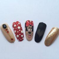 disney maaling, disney nail art